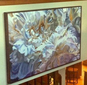 """Peonies"" 36"" x 60"" Collectible Giclee Print, Limited Ed. $610.00"