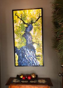 """24"""" x 48"""" Collectible Gicl Canvas Print, Limited Ed. $500.00 Black  Box Frame included"""